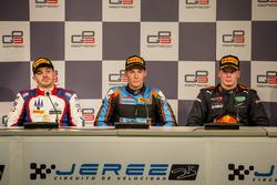 Persconferentie: Dorian Boccolacci, Trident, Alessio Lorandi, Jenzer Motorsport, Niko Kari, Arden International