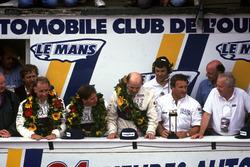 Podium: John Nielsen, Price Cobb, Eliseo Salazar, Martin Brundle, Jaguar XJR-12