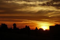 غروب الشمس فى مراكش