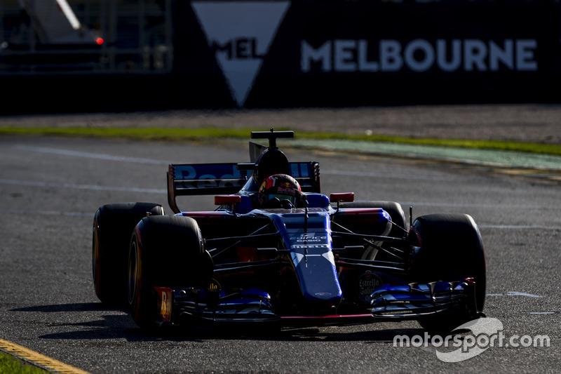 10 місце – Данііл Квят, Toro Rosso