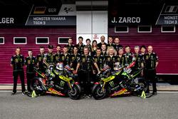 Photo d'équipe de Jonas Folger, Monster Yamaha Tech 3; Johann Zarco, Monster Yamaha Tech 3