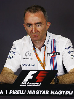Paddy Lowe, Teknik Şef, Williams Formula 1