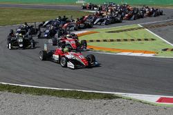 Mick Schumacher, Prema Powerteam, Dallara F317 - Mercedes-Benz au départ