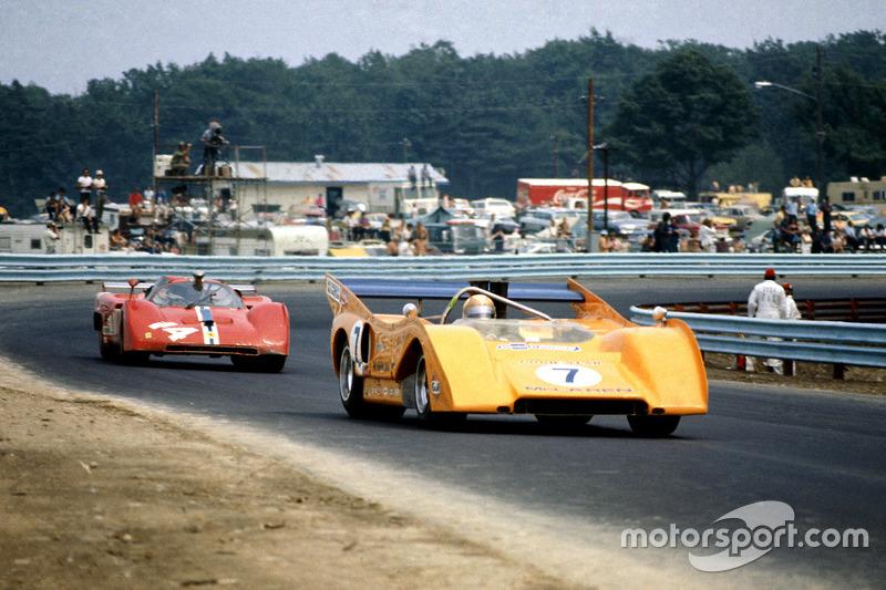 1971, McLaren M8F Chevrolet, Питер Ревсон. Серия Can-Am