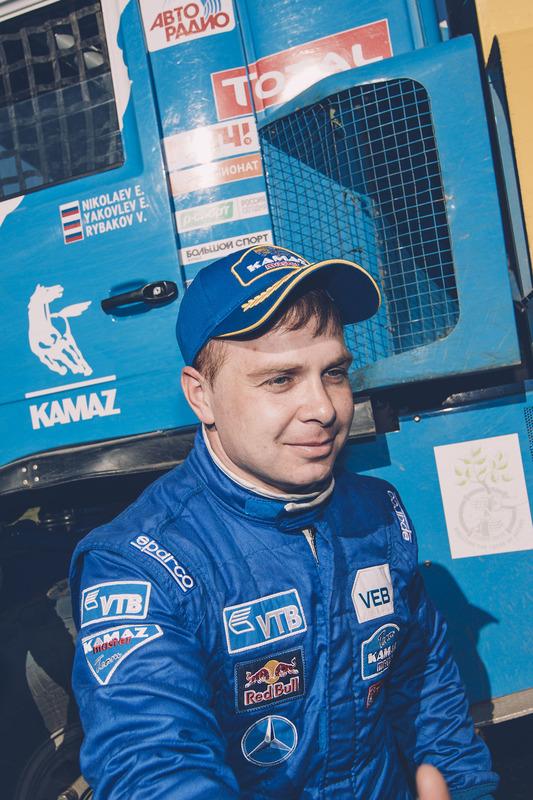 Eduard Nikolaev, Kamaz Master