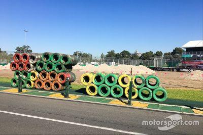 Avustralya GP hazırlıkları