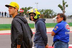 Валентино Росси в шлеме Arai