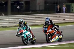 Hafizh Syahrin, Petronas Raceline Malaysia, Kalex and Marcel Schrötter, AGR Team, Kalex