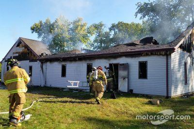 Feuer in der ARCA-Zentrale