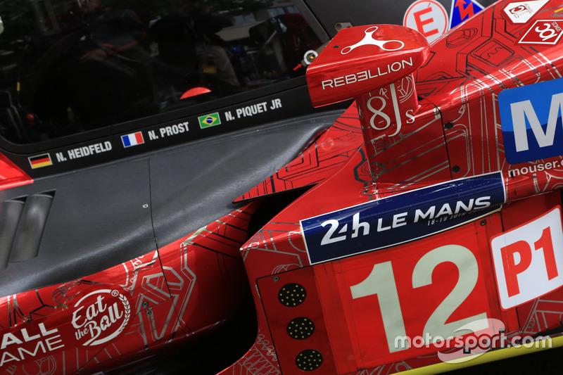 #12 Rebellion Racing Rebellion R-One AER