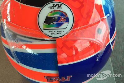 Stefan Wilson Indy 500 Helmet