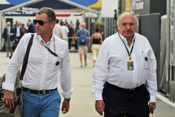 (L to R): Tom Kristensen, FIA Steward with Jose Abed, FIA Vice President