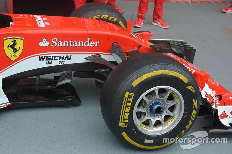 Ferrari SF16-H: Front
