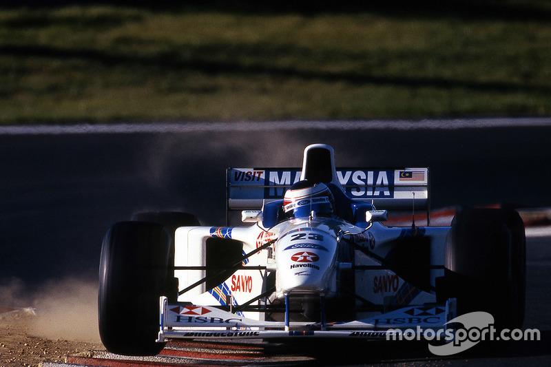 Ян Магнуссен (в Ф1 – 1995, 1997-1998, 25 Гран При, одно очко)