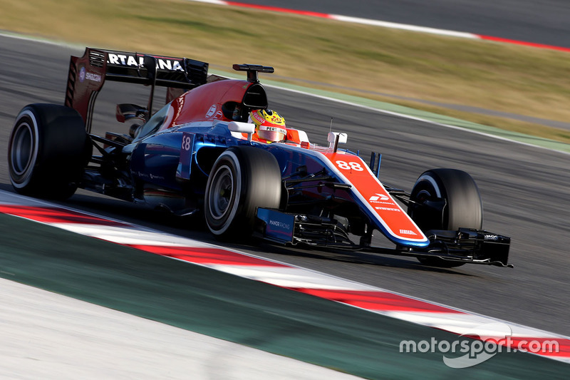 Rio Haryanto, Manor Racing MRT05
