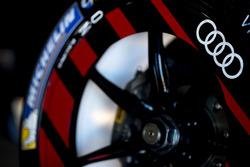 Le logo Audi sur la voiture de Daniel Abt, Audi Sport ABT Schaeffler