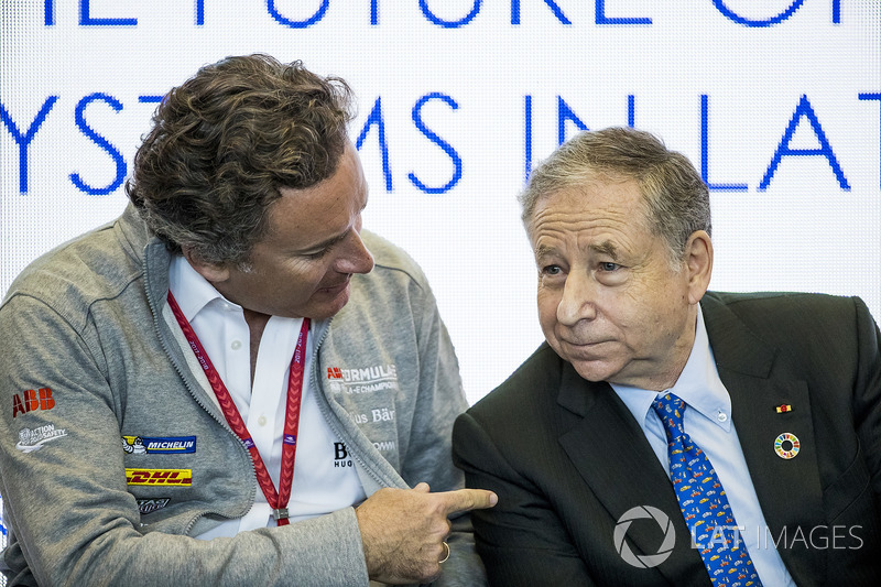 Alejandro Agag, CEO, Formula E, Jean Todt, Presiden FIA