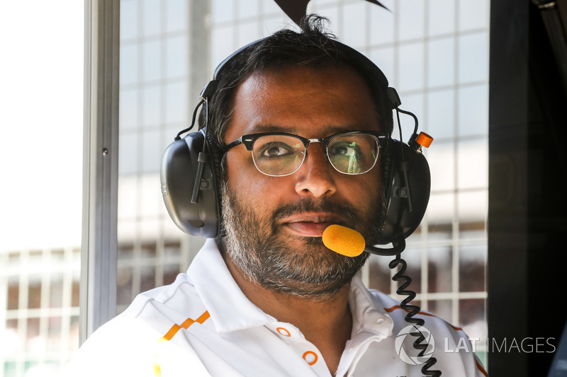 Randeep Singh, directeur de la stratégie, McLaren
