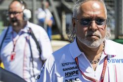 Vijay Mallya, Team Principal y Director General, Force India