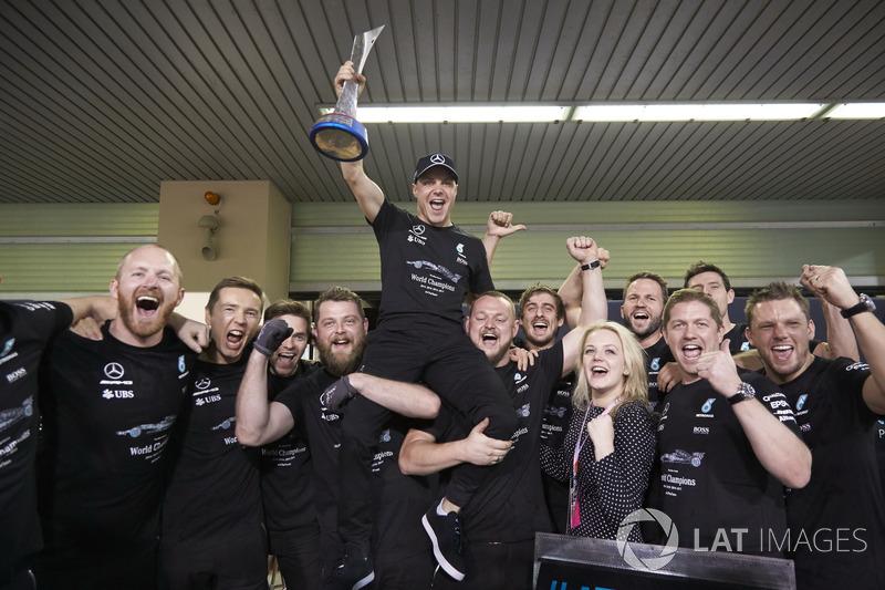 5. Valtteri Bottas - Letzter Sieg: Großer Preis von Abu Dhabi 2017 für Mercedes