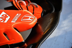Le nez de la McLaren MCL32