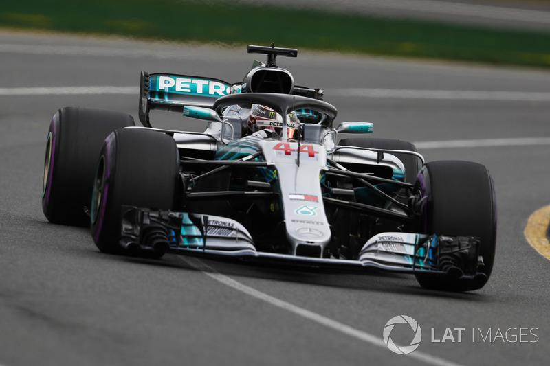1. Льюис Хэмилтон, Mercedes AMG F1 W09