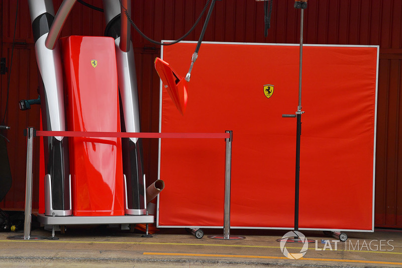 Pantalla de garaje Ferrari