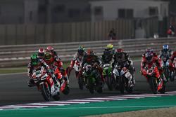 Start zu Rennen 2 am Samstag in Doha