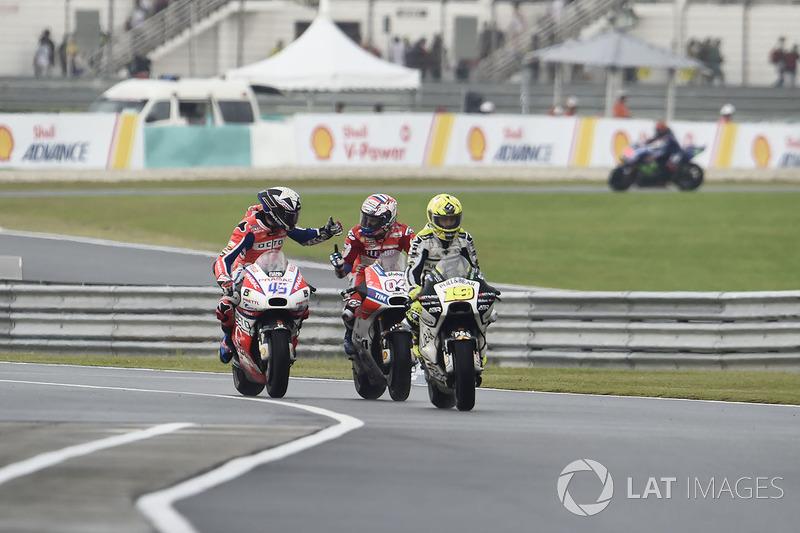 Andrea Dovizioso, Ducati Team, Scott Redding, Pramac Racing