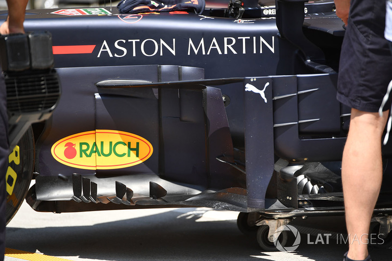 Un déflecteur de la Red Bull Racing RB14