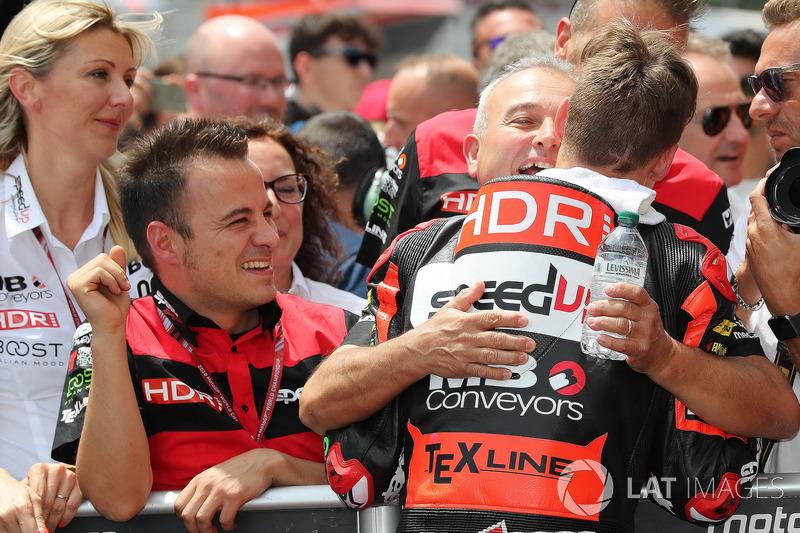 Il vincitore della gara Fabio Quartararo, Speed Up Racing