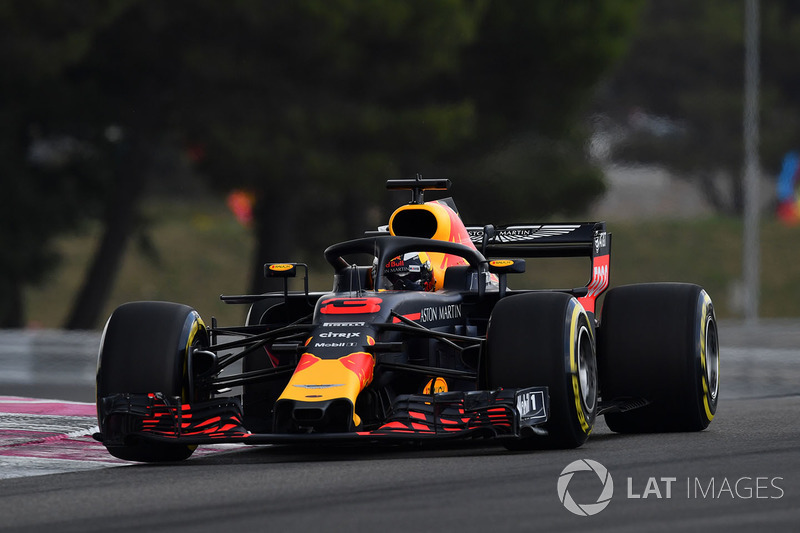 5. Daniel Ricciardo, Red Bull Racing RB14