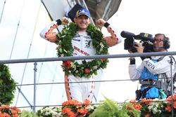 LMGTE Pro podium: winner Kevin Estre, Porsche GT Team