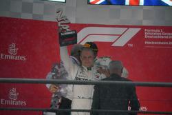 Valtteri Bottas, Mercedes-AMG F1 sur le podium