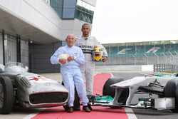 Sir Stirling Moss, Mercedes-Benz W196 ve Lewis Hamilton, Mercedes AMG F1