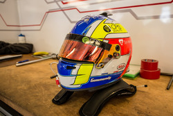 Le casque de Tristan Gommendy