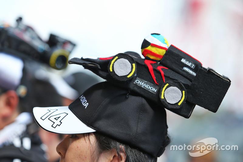 A McLaren fan