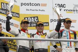 Podium: 2. #29 Montaplast by Land-Motorsport, Audi R8 LMS: Connor De Phillippi, Christopher Mies