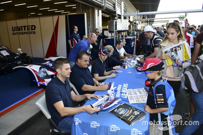 #3 United Autosports, Ligier JSP3 - Nissan: Matt Bell, Mark Patterson, Wayne Boyd