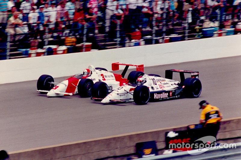 Rick Mears versus Michael Andretti