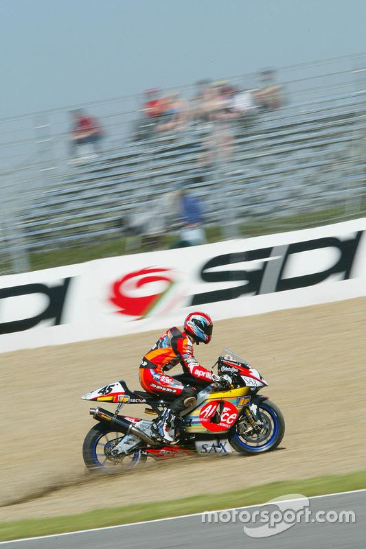Ausfall: Colin Edwards, Aprilia Racing