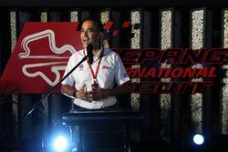 Tan Sri Azman, Chairman of Sepang International Circuit at Petronas BBQ
