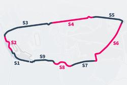 Slow-Zones in Le Mans 2017