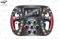 Toro Rosso STR9 steering wheel