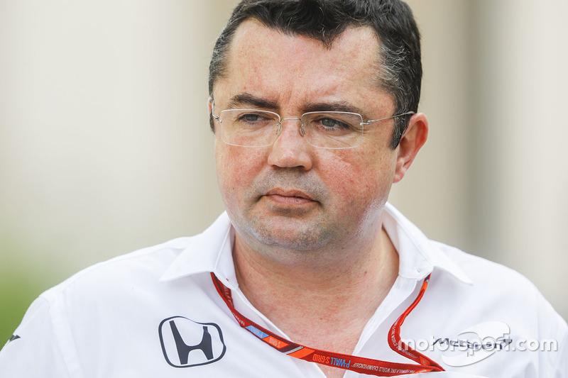Eric Boullier, Renndirektor, McLaren