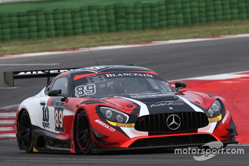 #89 Akka ASP, Mercedes-AMG GT3: Christophe Bourret, Jean-Philippe Belloc