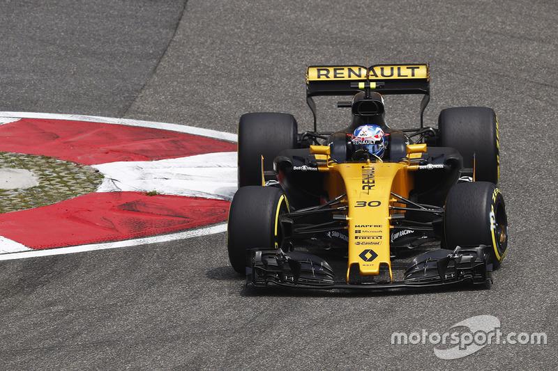20: Джолион Палмер, Renault Sport F1 RS17