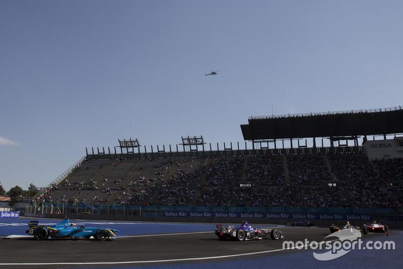 Sébastien Buemi, Renault e.Dams; Sam Bird, DS Virgin Racing