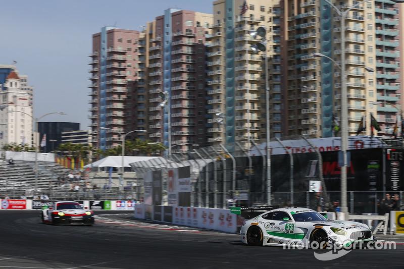33 riley motorsports mercedes amg gt3 jeroen bleekemolen for Long beach motor sports