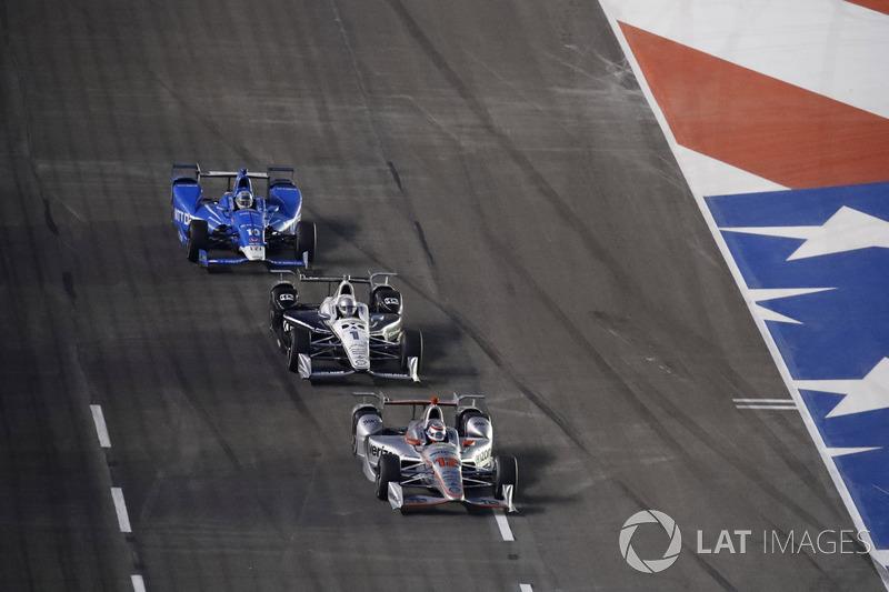 Will Power, Team Penske Chevrolet Tony Kanaan, Chip Ganassi Racing Honda Simon Pagenaud, Team Penske Chevrolet